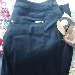 Iman plus jet black jeans